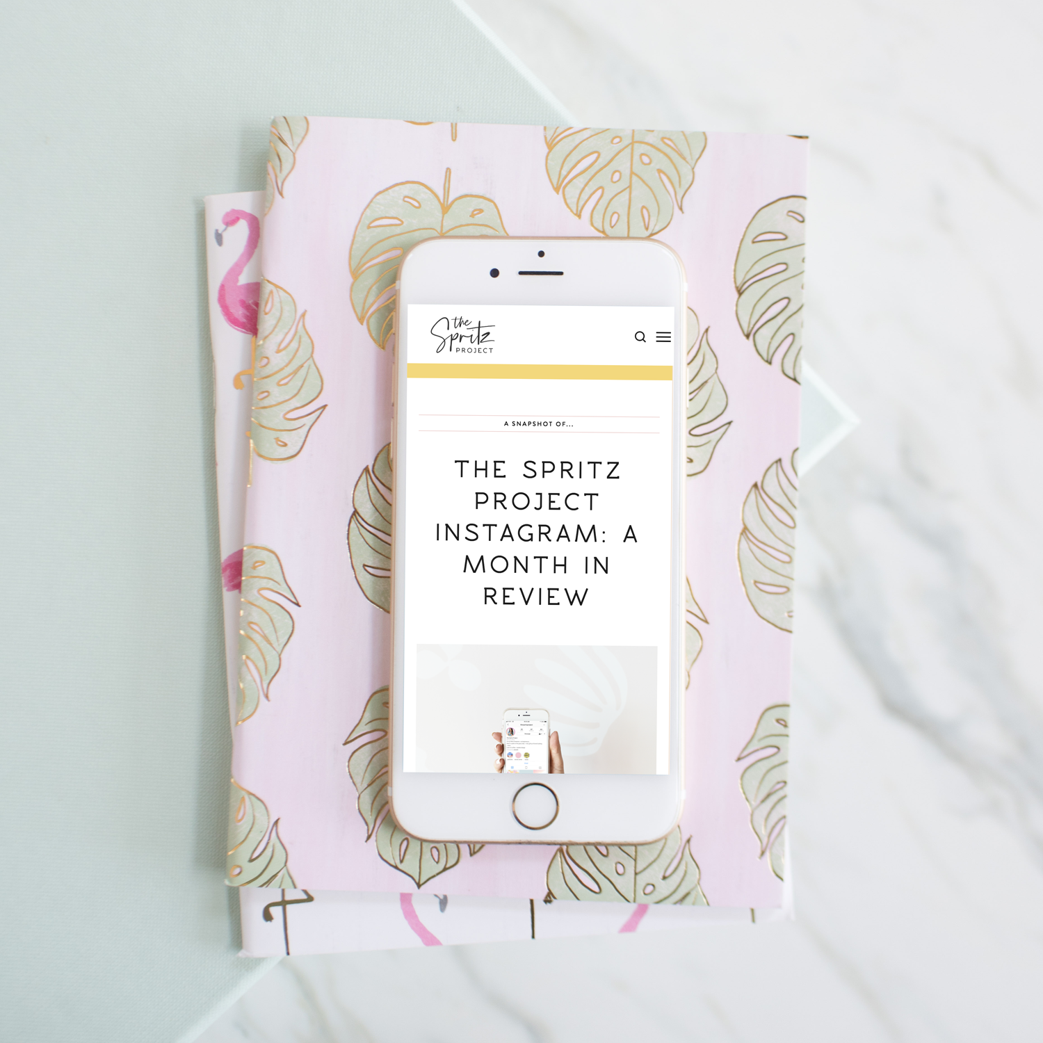 TheSpritzProject Anna Forte Blog Instagram Month in Review