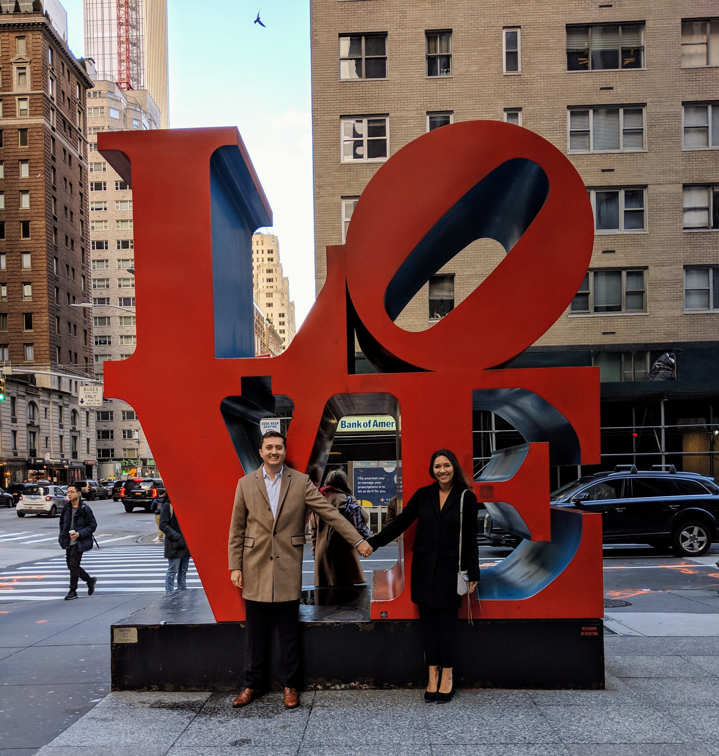 LOVE Sculpture  - tbh it was a tad anti-climactic