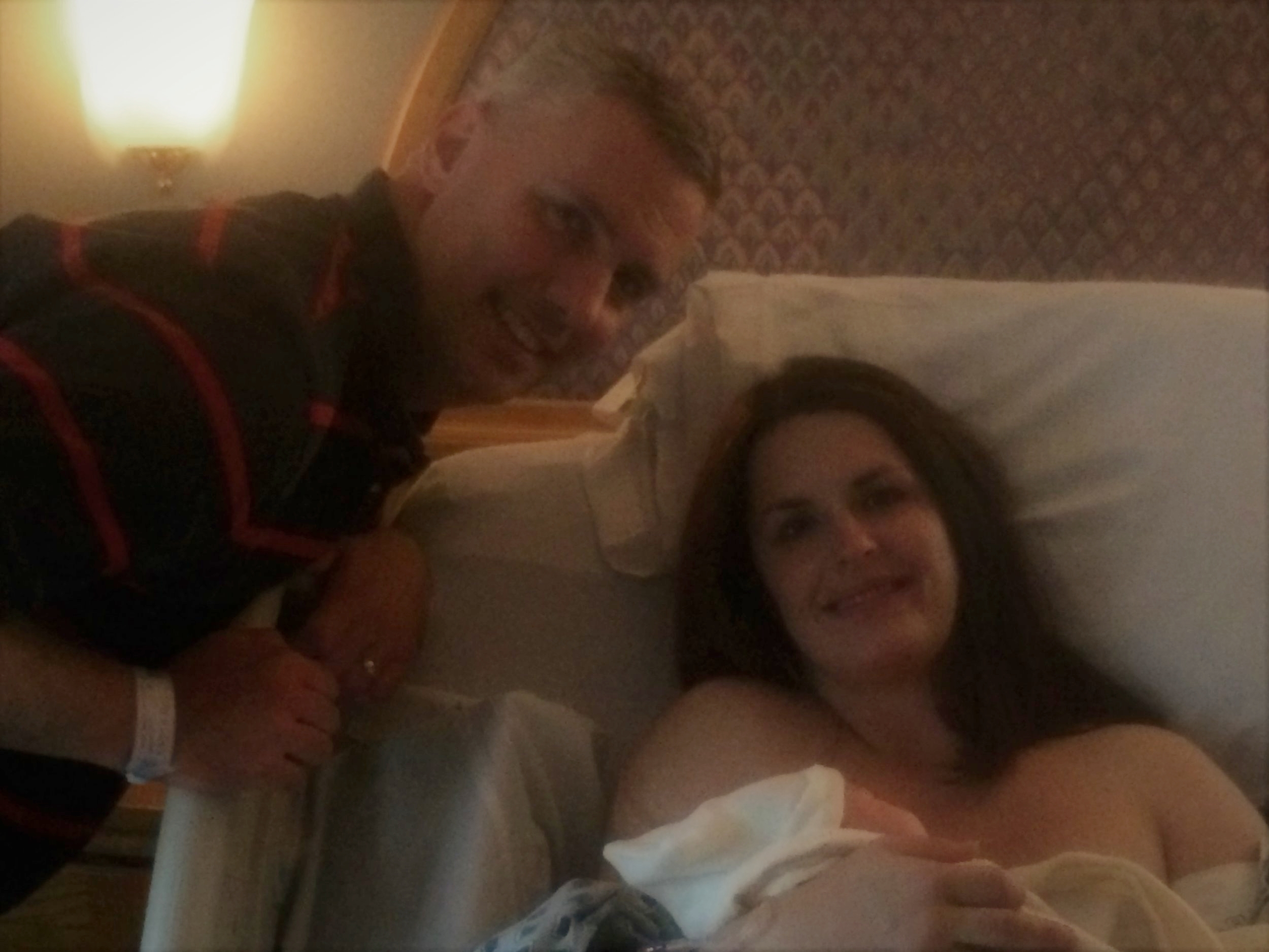 Those smiles! A t Prince William Hospita l with Tabitha Kaza