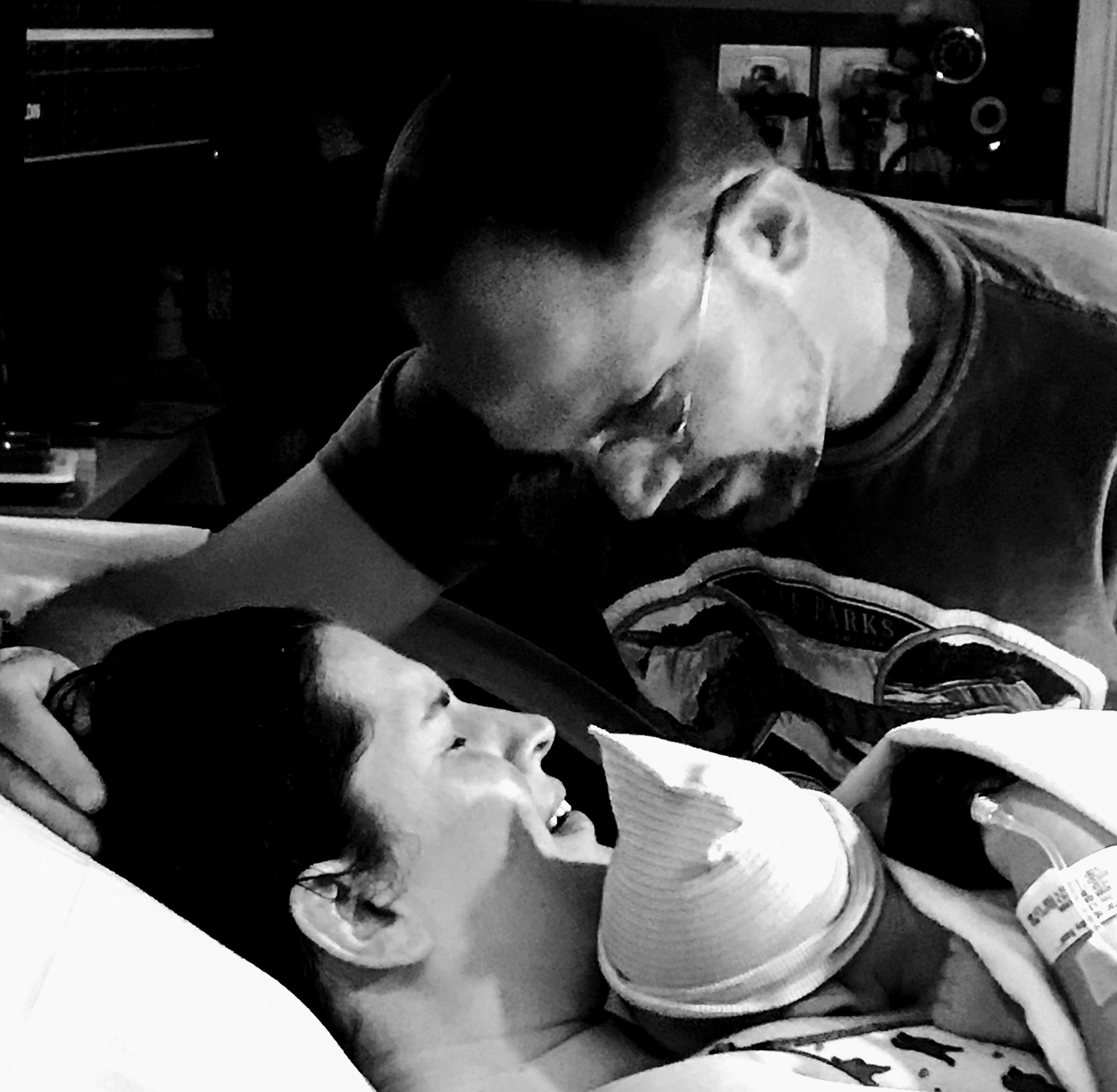 VBAC joy! At  Inova Fair Oaks Hospital  with  Dr. Hashemi from Centreville OB/GYN , and Tabitha Kaza from Heaven&birth