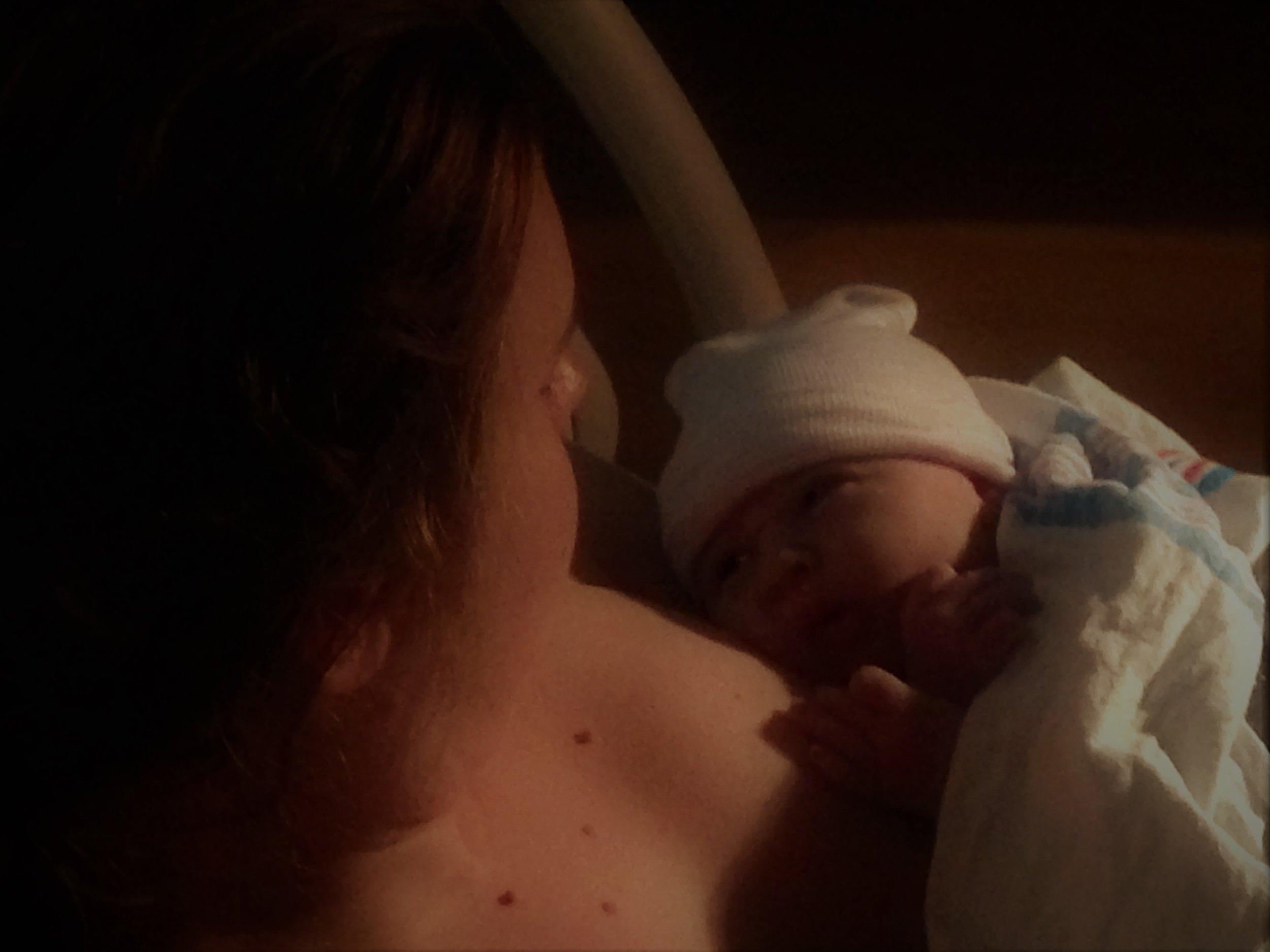 First sight, at  Virginia Hospital Center with  Tabitha Kaza