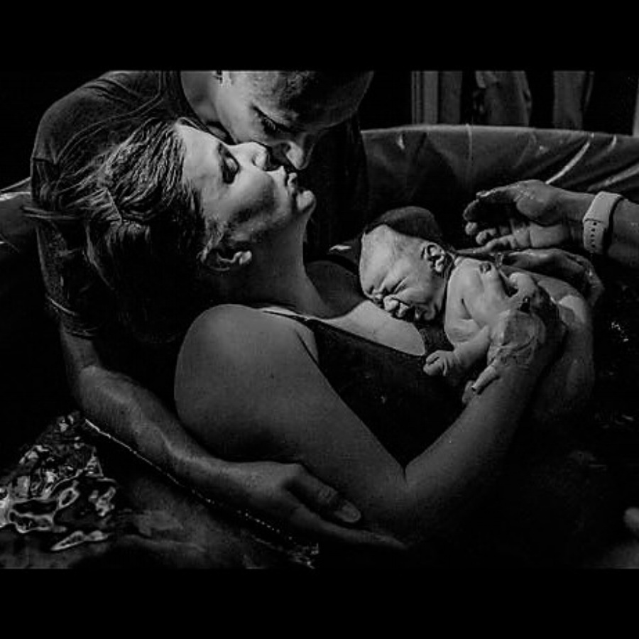 Unmedicated birth -