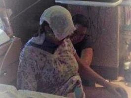 The washcloth really worked its magic! At Inova  Fair Oaks Hospital  with Tabitha Kaza