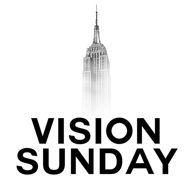 #VisionSunday2018 is here! Join us at 10am as we hear the vision for our church for 2018! #faithcc