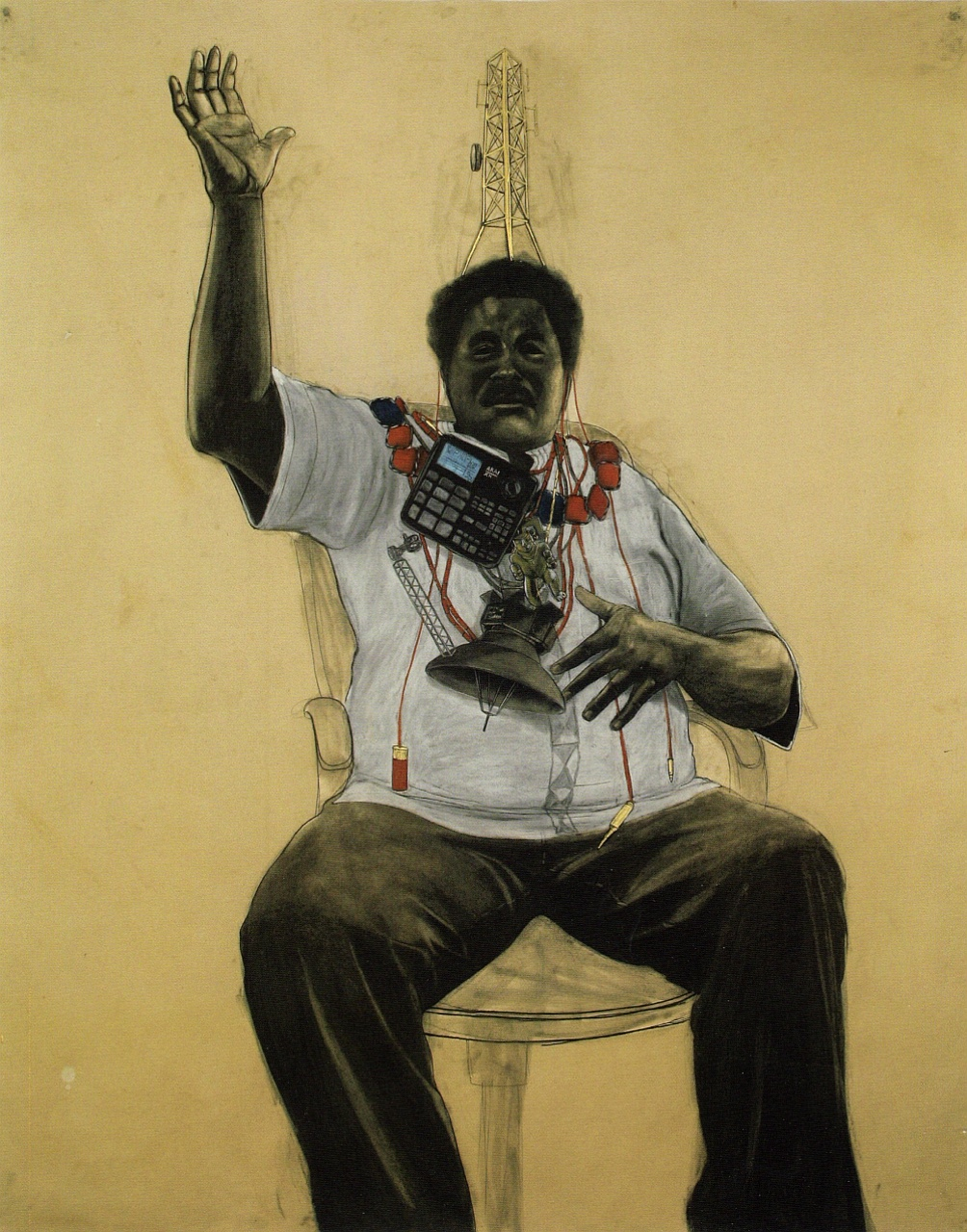 """Oba"", 2011 by Robert Pruitt"