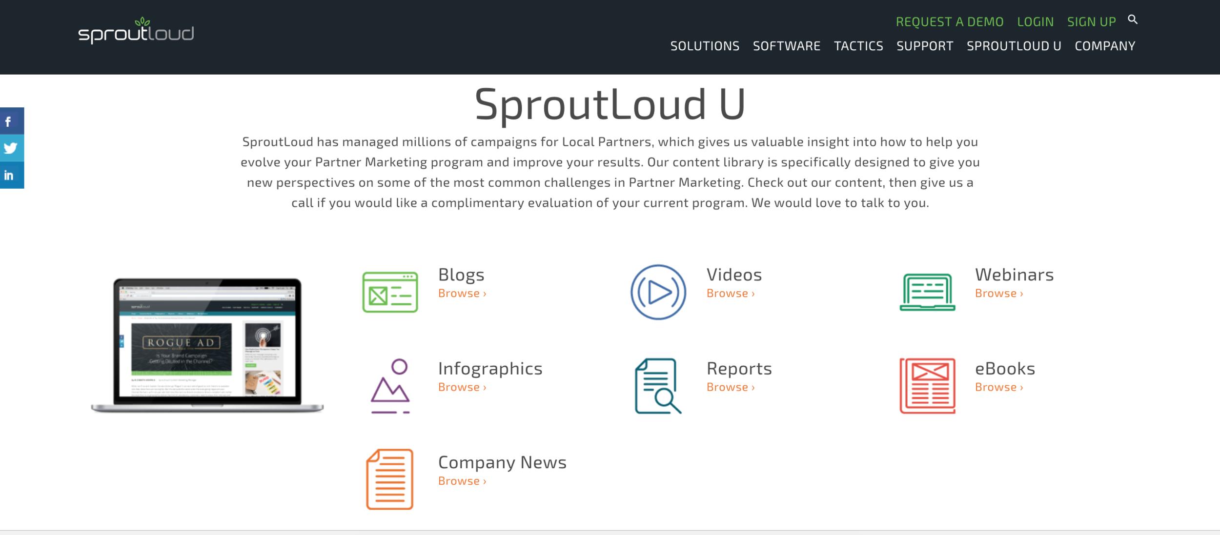 Sproutloud U
