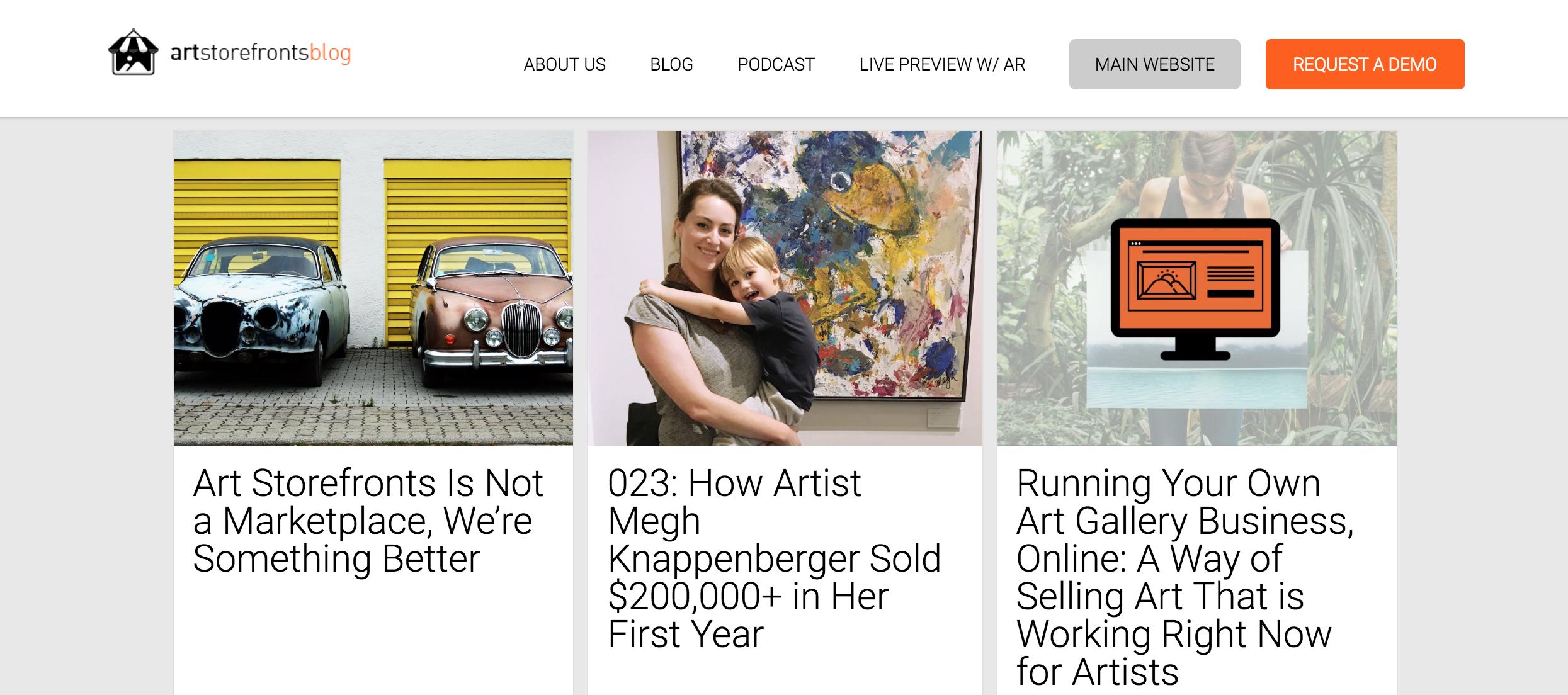 Art Storefronts Blog