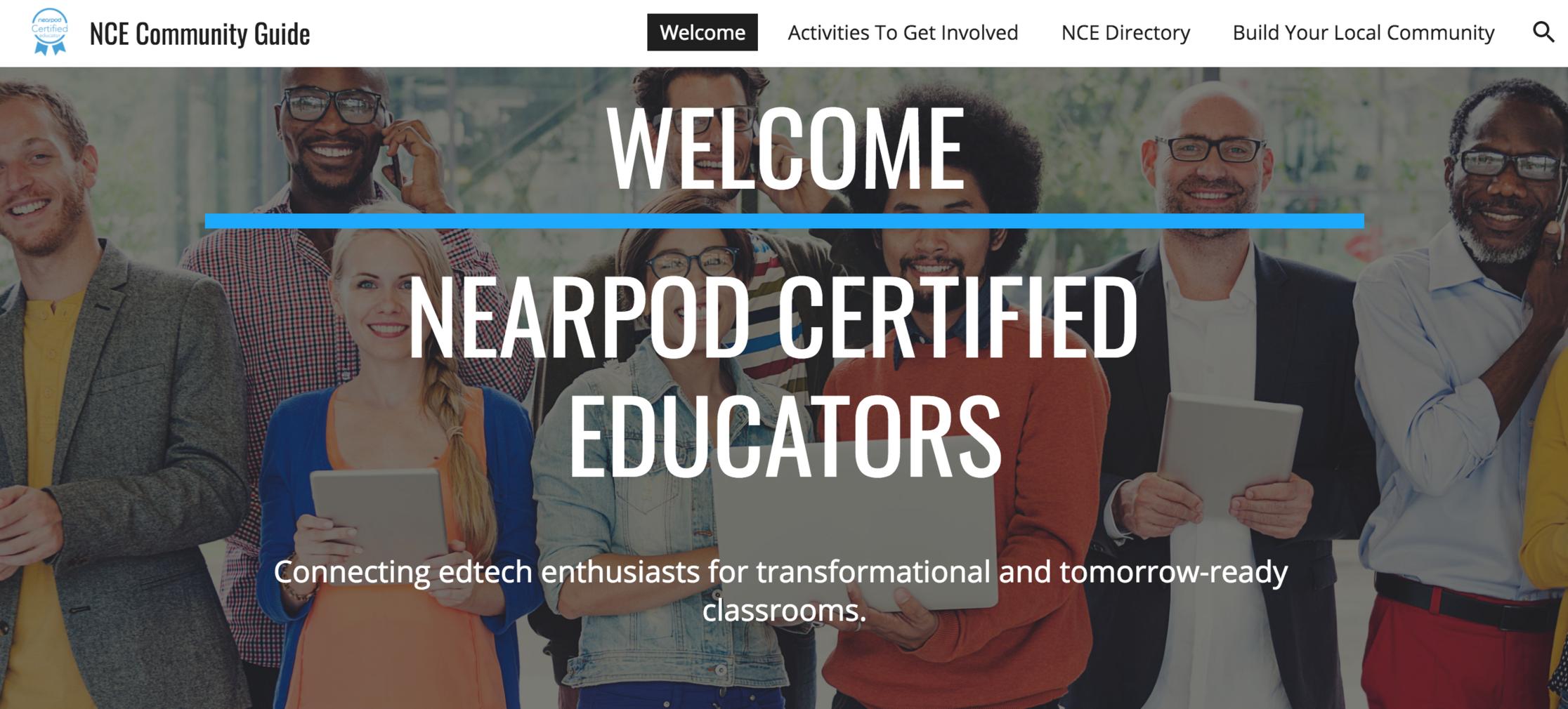 Welcome Nearpod Certified Educators