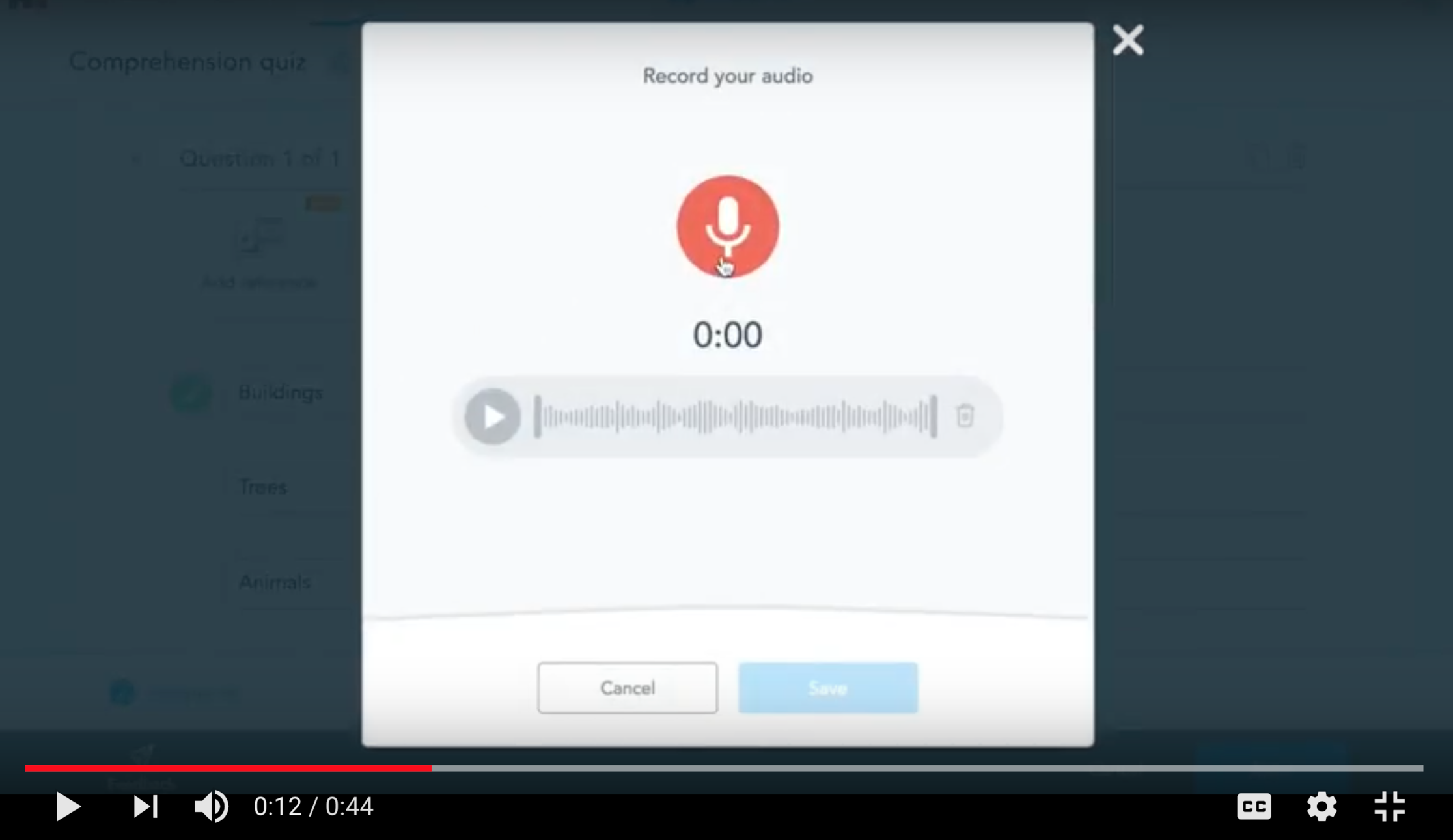 Embed Audio In A Presentation