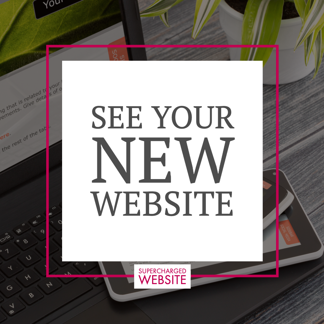 See Your New Supercharged Website