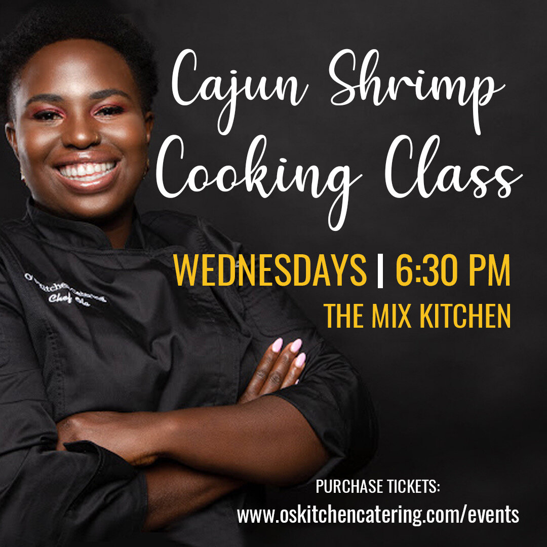 see you in class! - Join me as I walk you through the steps and process to making a perfect Shrimp & Grits dish!