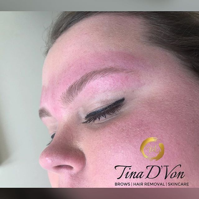 """She wanted to keep it SIMPLE so she chose our Brow Maintenance option❤️ Just Wax, No Fill, and Super Clean🤗 ▪️Click the """"Book"""" tab in my bio for all your hair removal needs🤗 ******************************* 💕 💕 💕 💕 💕 💕 💕 #TinaDVon #raleighbrows #raleighblogger #archaddicts #raleighmua #raleighlashes #raleighnails #raleighhair #raleighmakeupartist #raleighnightlife #raleighbraider #durhammakeupartist #raleighhairstylist #raleighfood #raleighspa #raleighbeauty #durhamhairstylist #durhamnails #durhambraider #durhammua  #durhambrows #carybrows #carynails #caryhairstylist"""