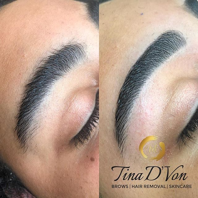 """Let's ENHANCE your BROWS😍 ▪️Click the """"Book"""" tab in my bio for all your hair removal needs🤗 ******************************* 💕 💕 💕 💕 💕 💕 💕 #TinaDVon #raleighbrows #raleighblogger #archaddicts #raleighmua #raleighlashes #raleighnails #raleighhair #raleighmakeupartist #raleighnightlife #raleighbraider #durhammakeupartist #raleighhairstylist #raleigh #raleighspa #raleighbeauty #durhamhairstylist #durhamnails #durhambraider #durhammua  #durhambrows #carybrows #love #caryhairstylist #browbabes #kellybakerbrows"""