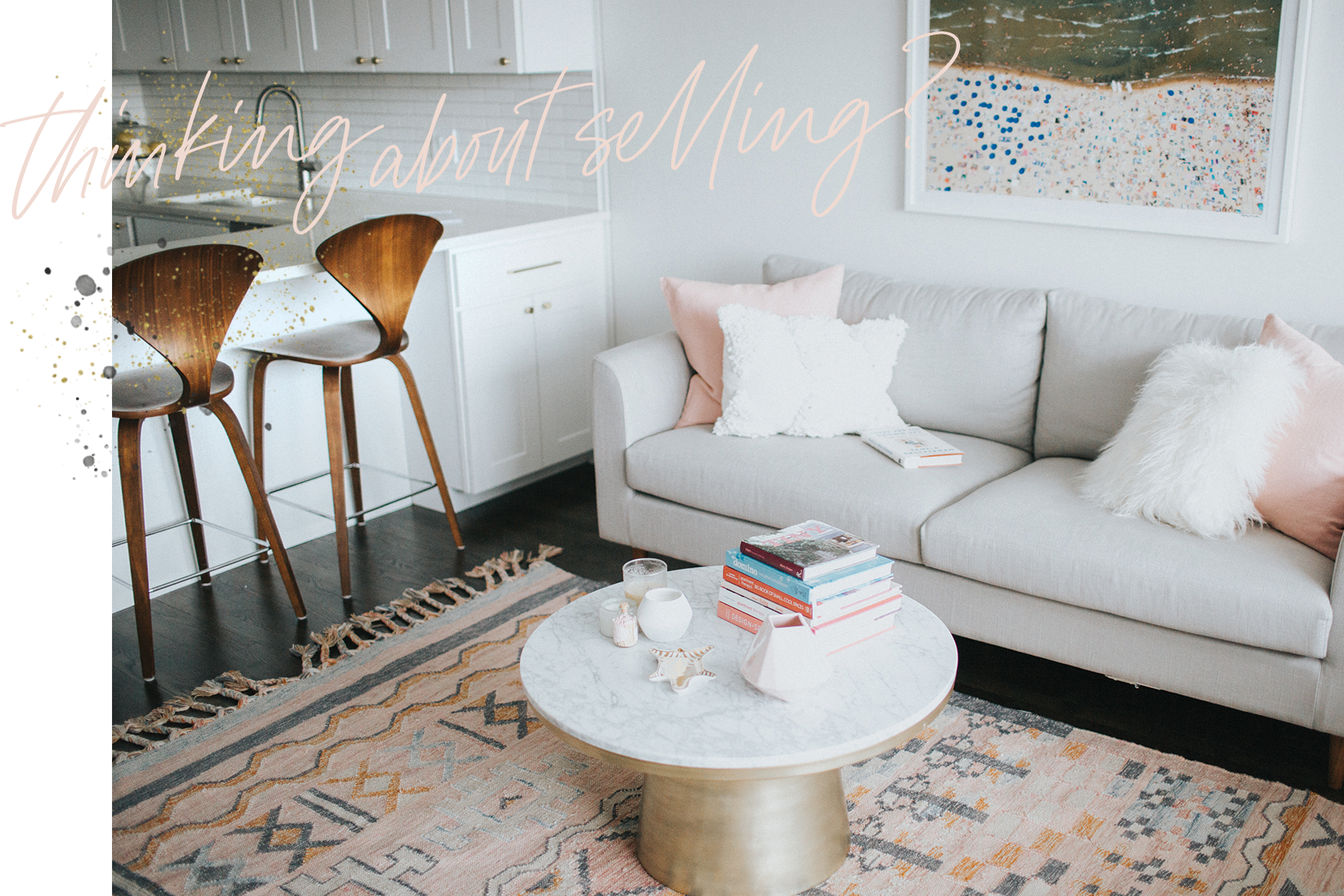 When you bought your condo a few years ago, it was perfect. - These days, it feels like you're constantly tripping on toys, desperate for more space and dreaming of your forever home. Sound familiar? If so, my seamless selling approach gets you where you want to go.As with buying, the selling process constitutes five straightforward steps.