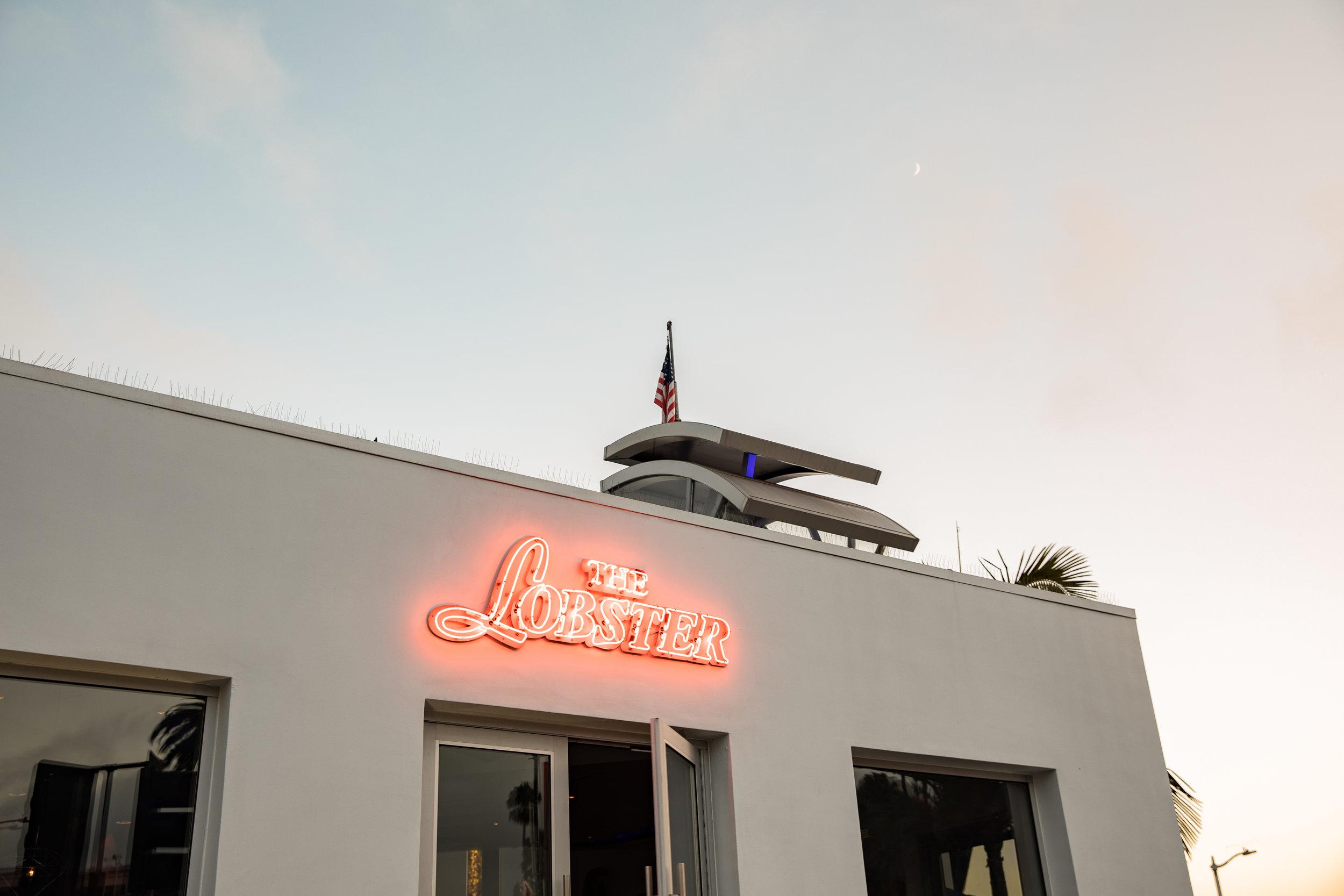 The Lobster Restaurant Front Doors