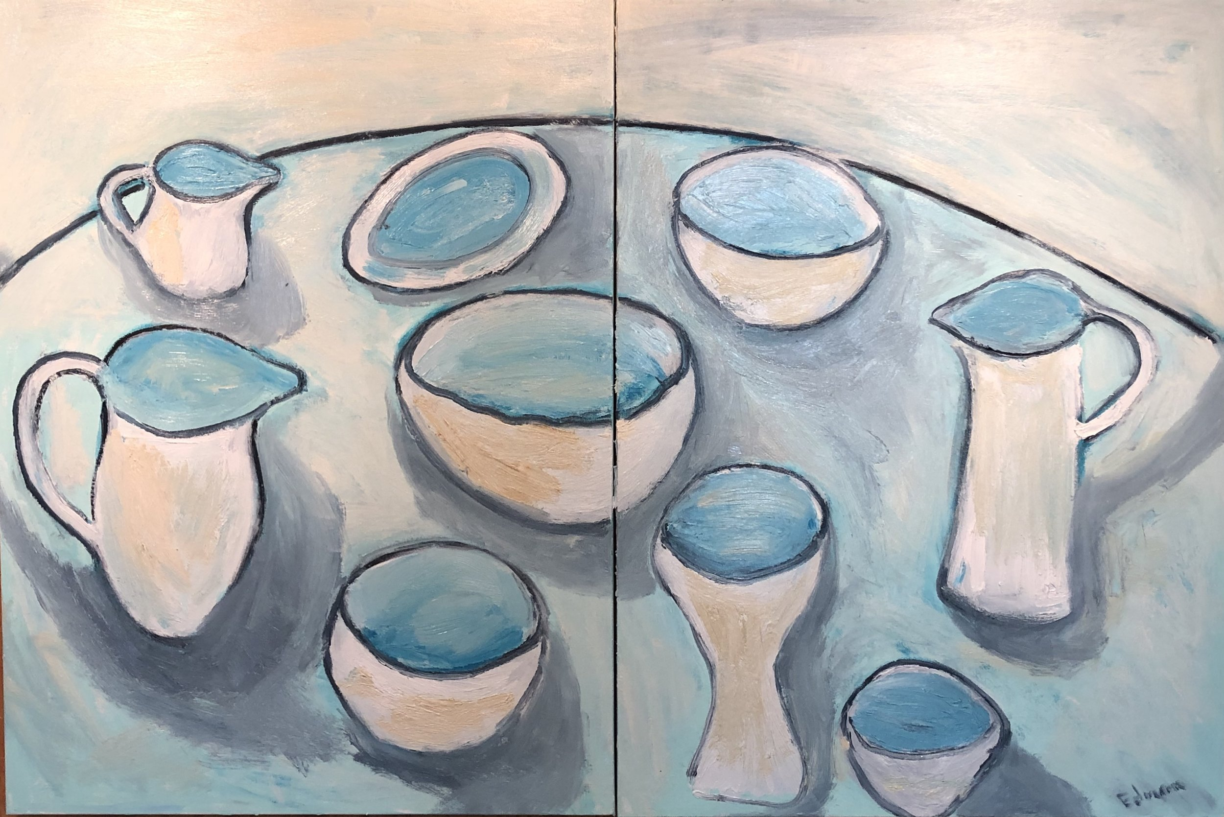 Table of Bowls, 2019
