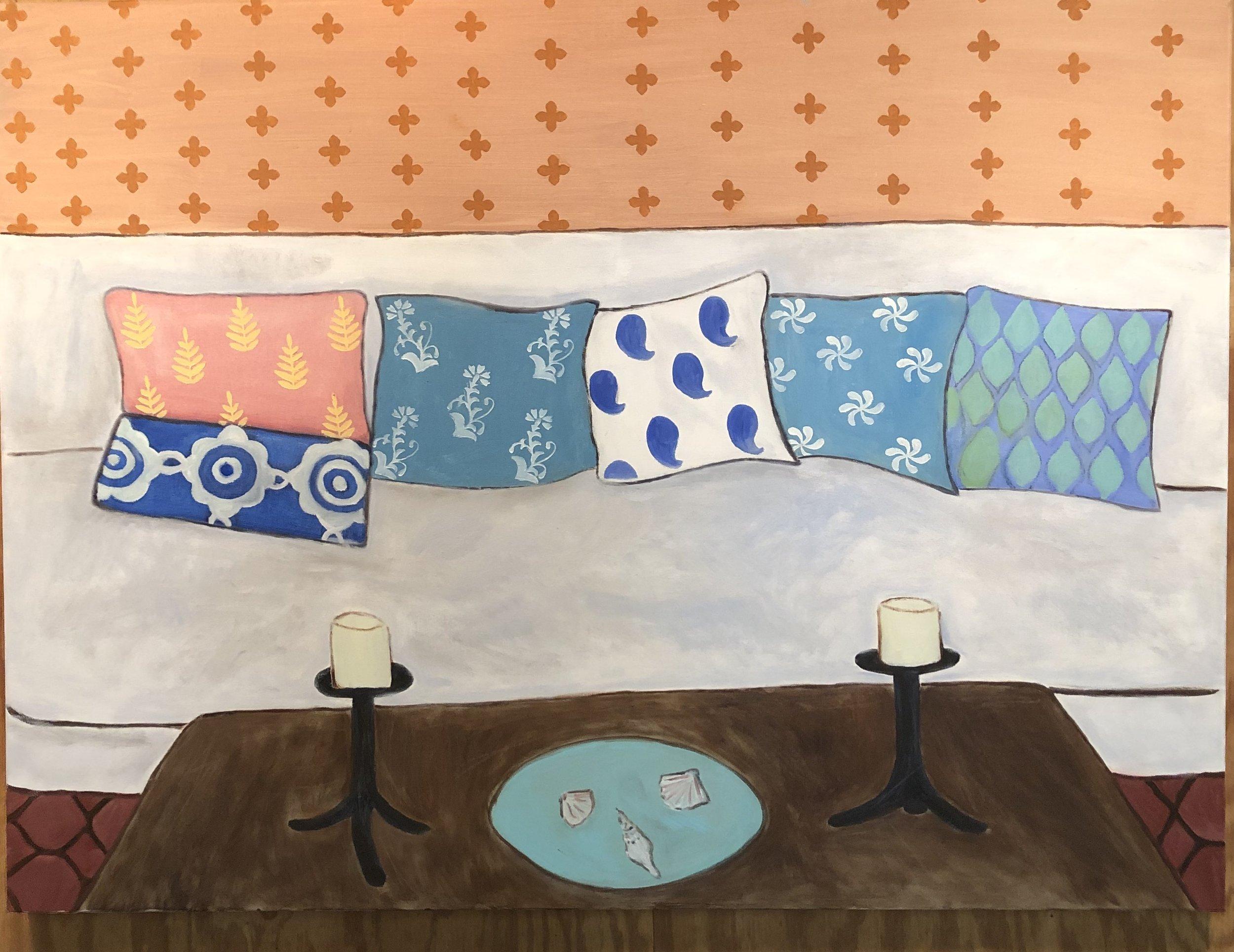 Pillows, 2018