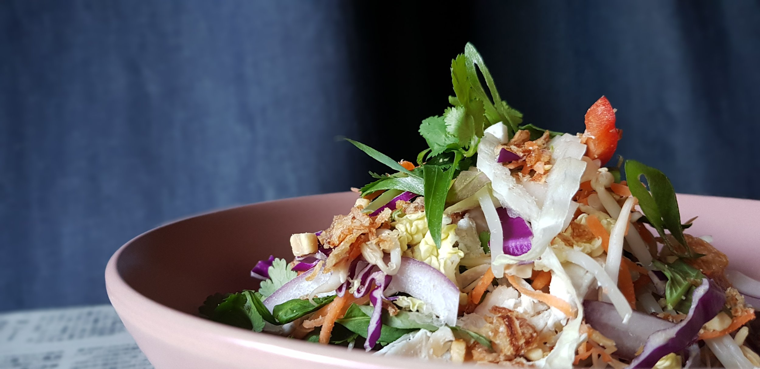Coconut Poached Chicken Salad