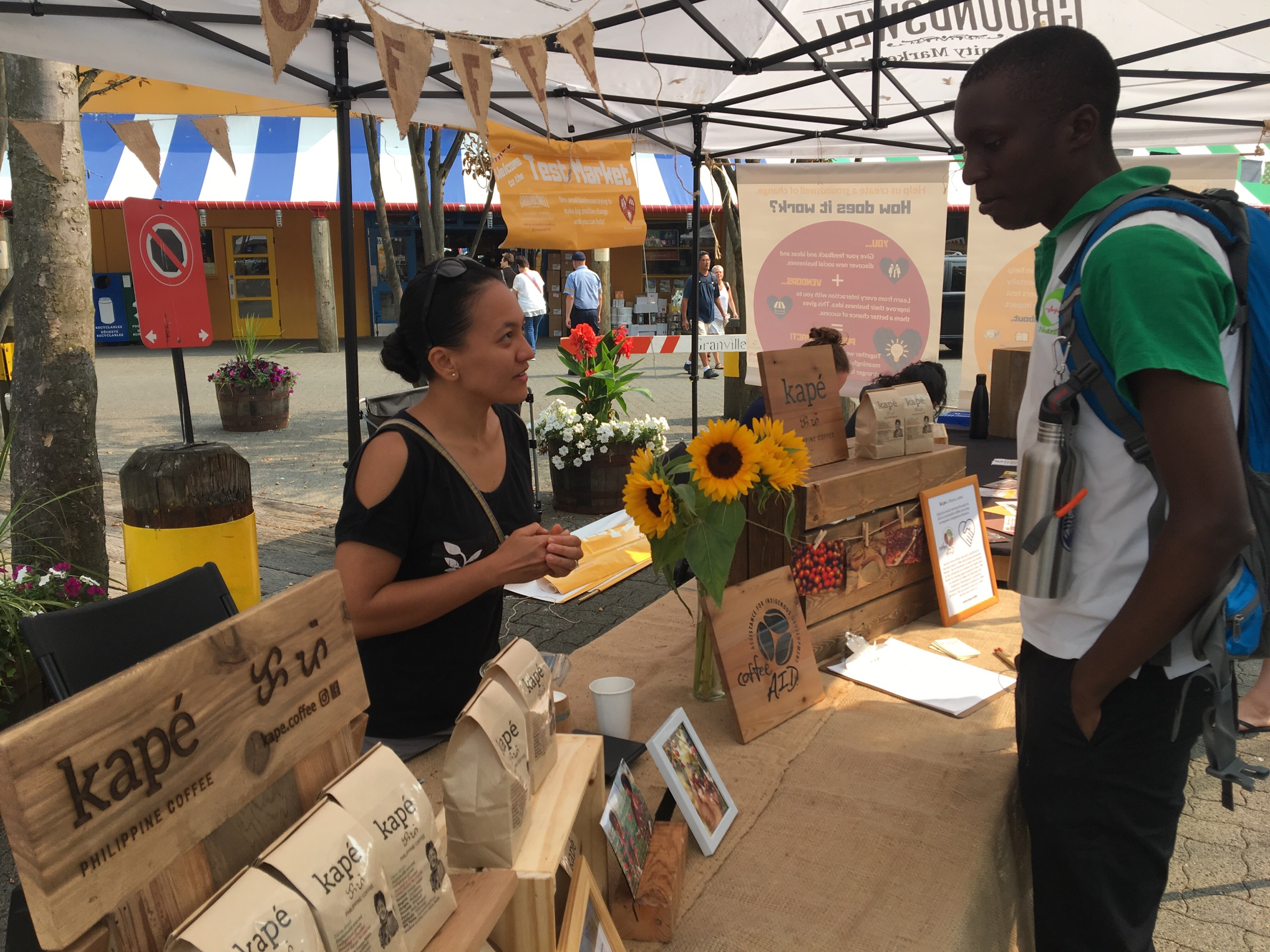 Groundswell Test Market - Tuesdays 11am-4pm at The Chain & Forge, Granville IslandJuly 16, 23, 30, August 6, 13, 20