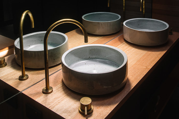 hand basins -