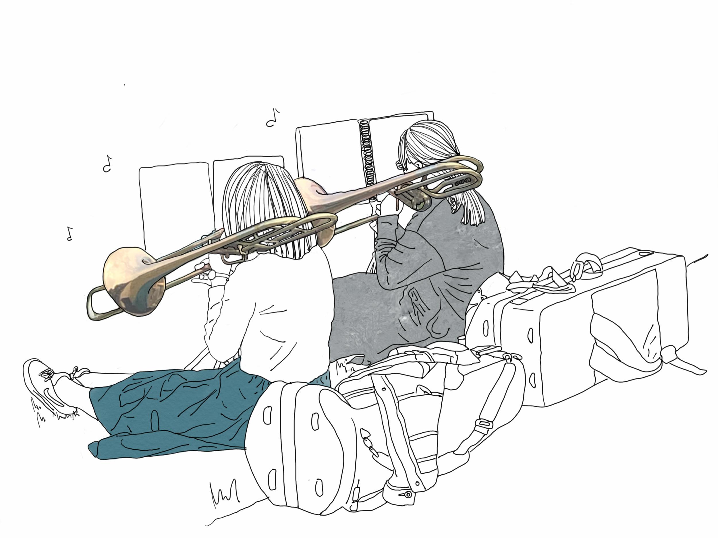jordan_kushins_japan_kyoto_kamo_river_trombones.png