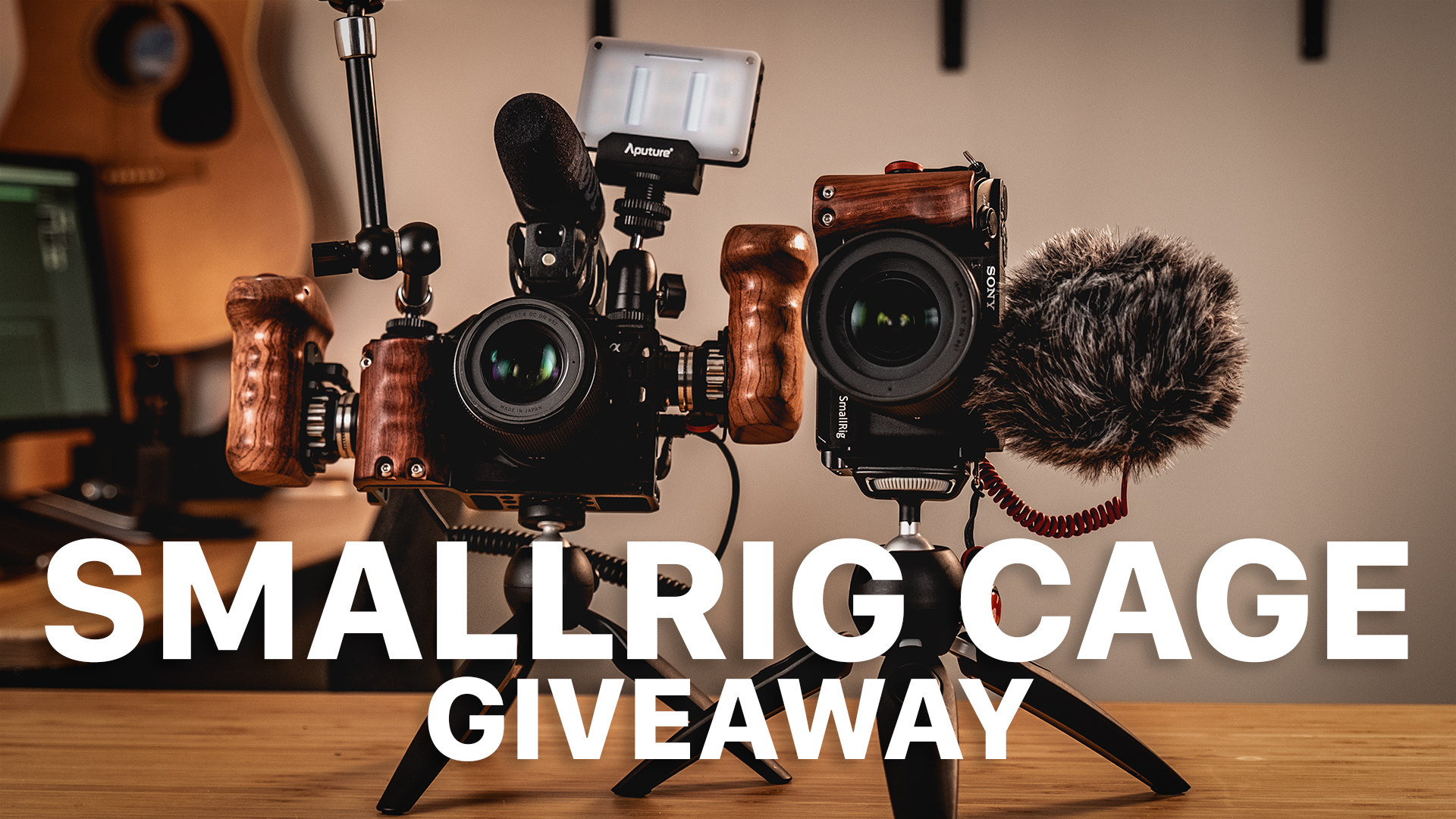 SmallRig Cage GIVEAWAY! // My FAVORITE Accessory