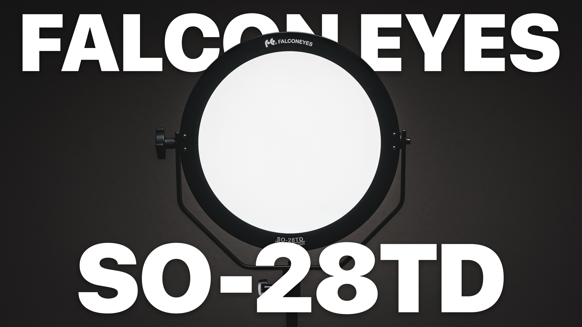 AWESOME Video LED Light \\ Falcon Eyes SO-28td Review