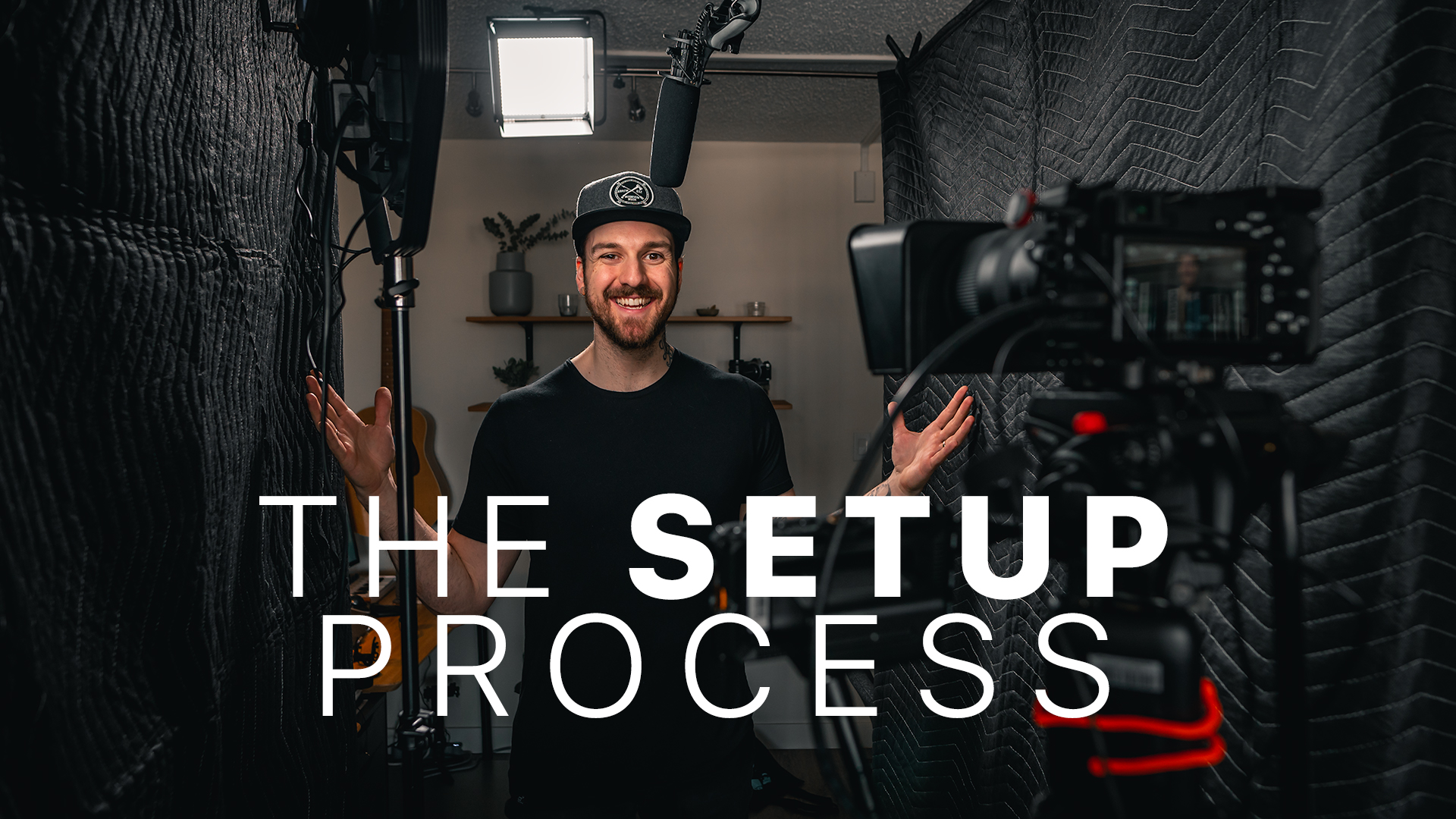 My YouTube Setup Tour // How I Get Ready To Film [2019]
