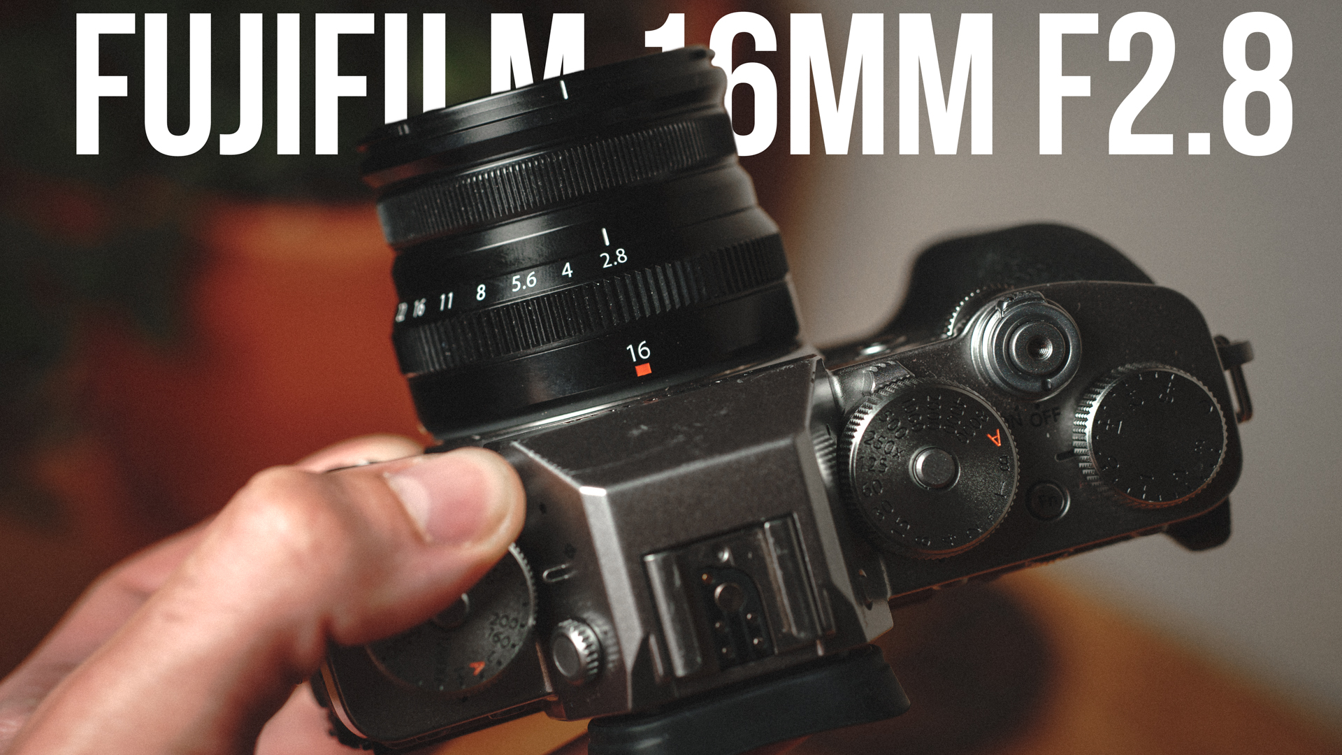 SMALL but MIGHTY!! FUJIFILM 16mm F2.8 REVIEW