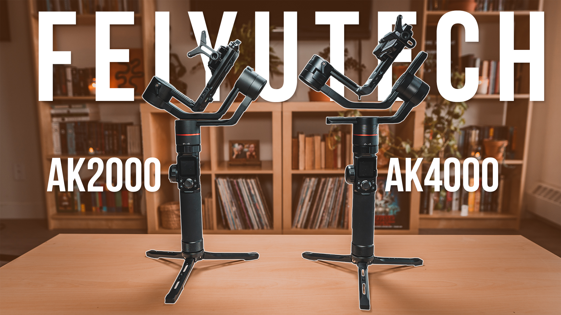 Feiyutech AK2000/AK4000 Gimbal Review + GIVEAWAY!