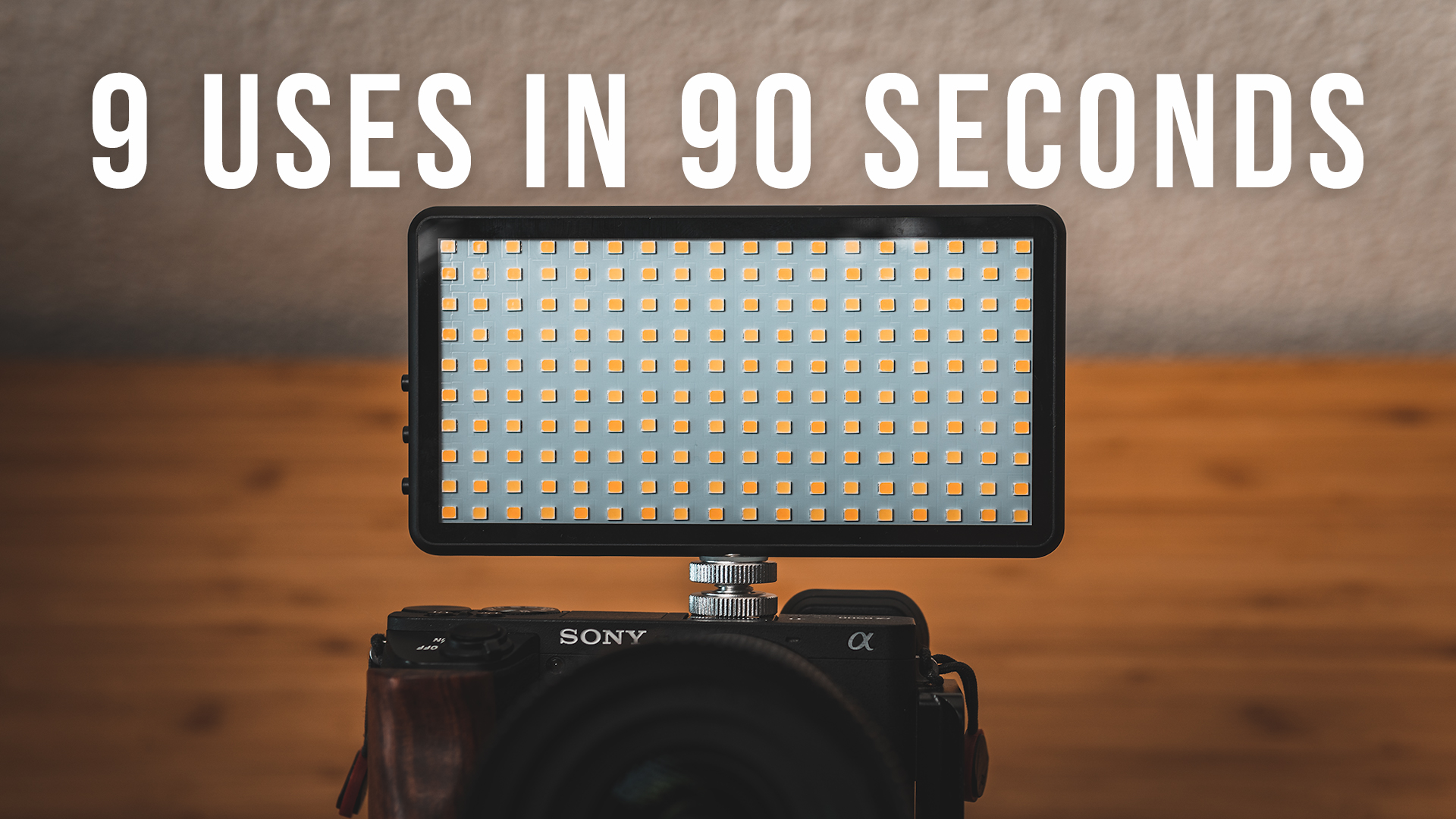 9 Uses In 90 Seconds: Bi-Color LED Panel Light by Lume Cube