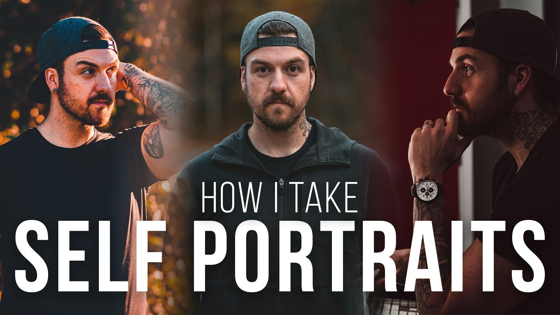 How I Take Photos Of Myself // Self Portrait Photography