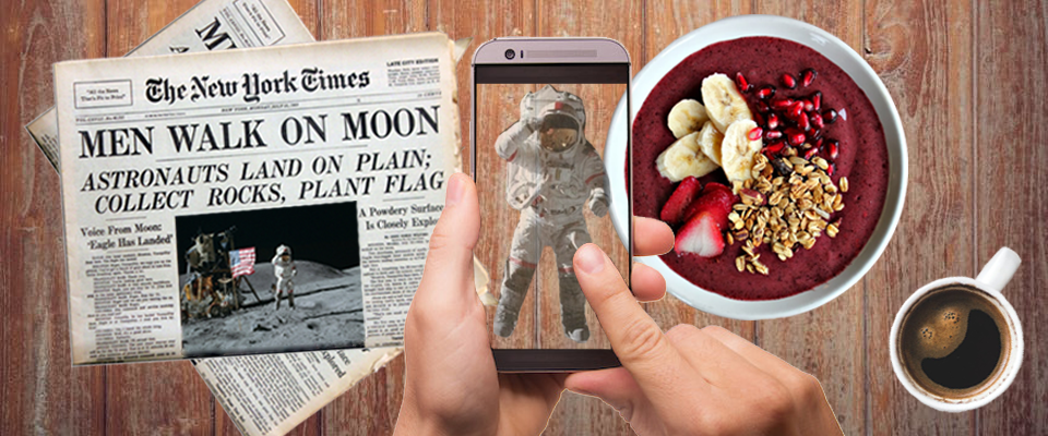 Image created for Is  Augmented Reality the News Media's New Frontier?