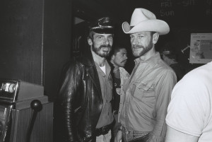 Michael Glynn (left) with friend. Photo courtesy of C.Moore Hardy