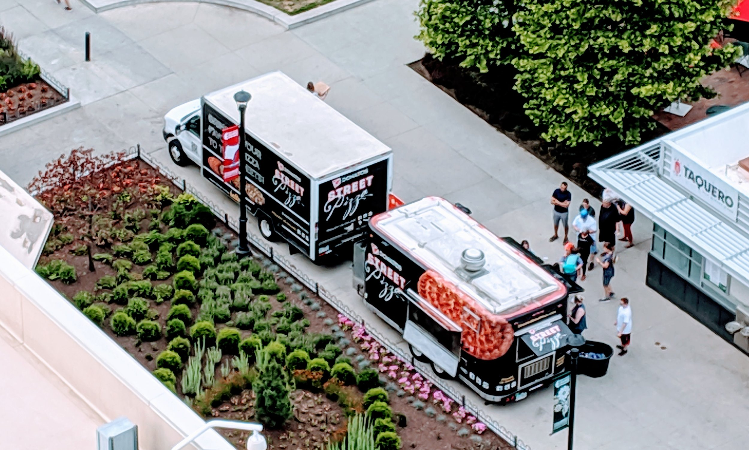 Donatos Food Truck at the Columbus Commons, Harmony Project Concert. June 6, 2019.