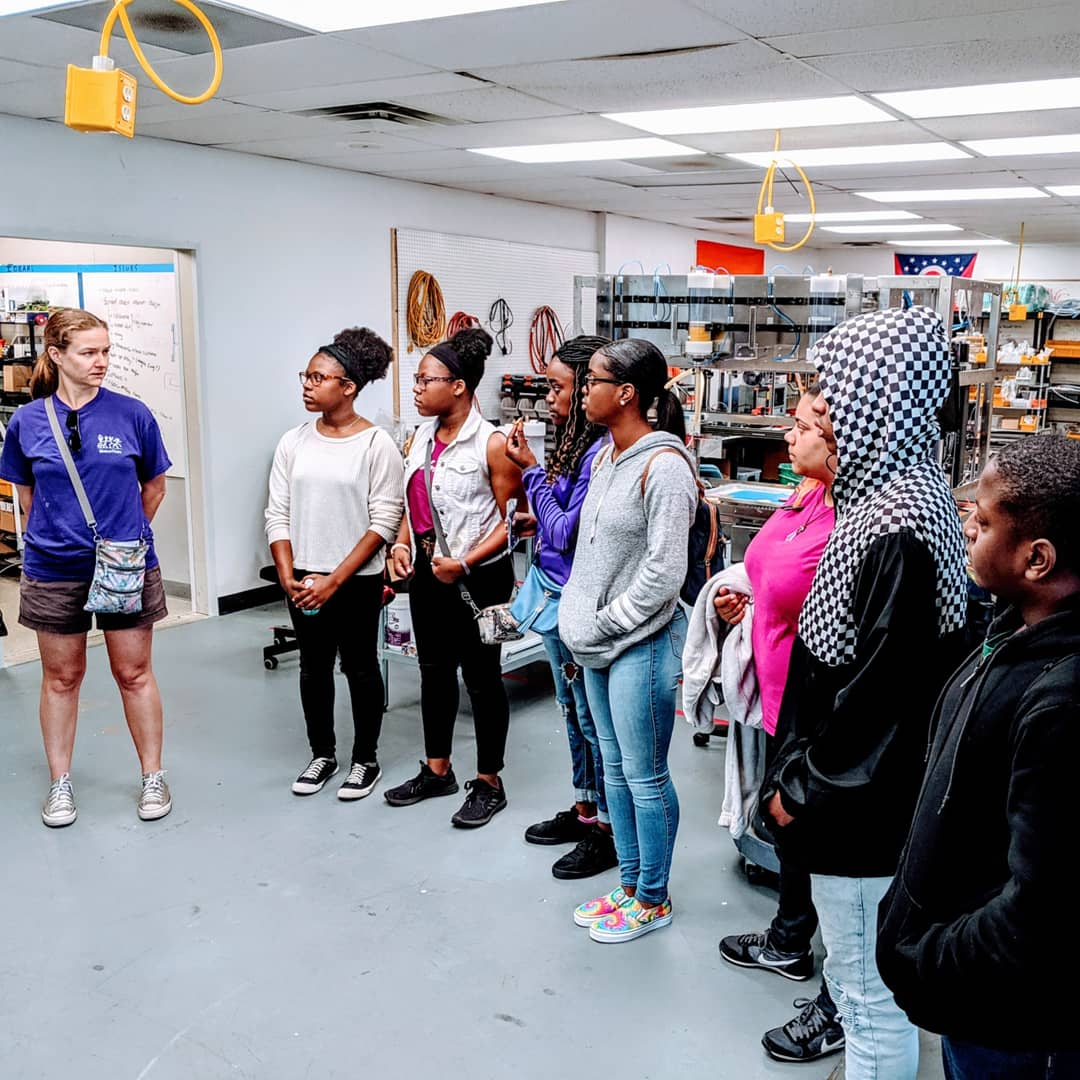 PAST Foundation Culinary Institute visits the EDGE. June 19, 2019.