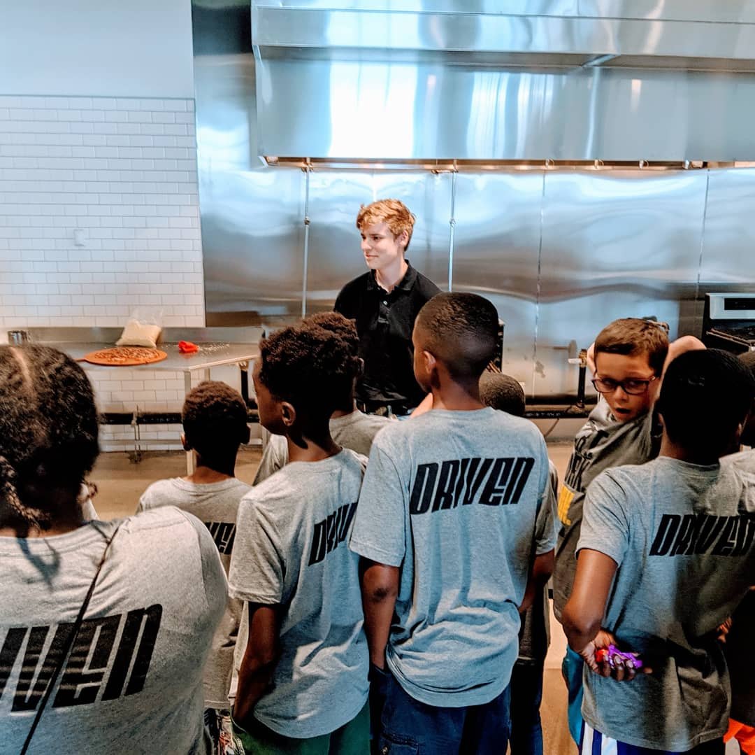 Driven Foundation  summer camp visits the EDGE.