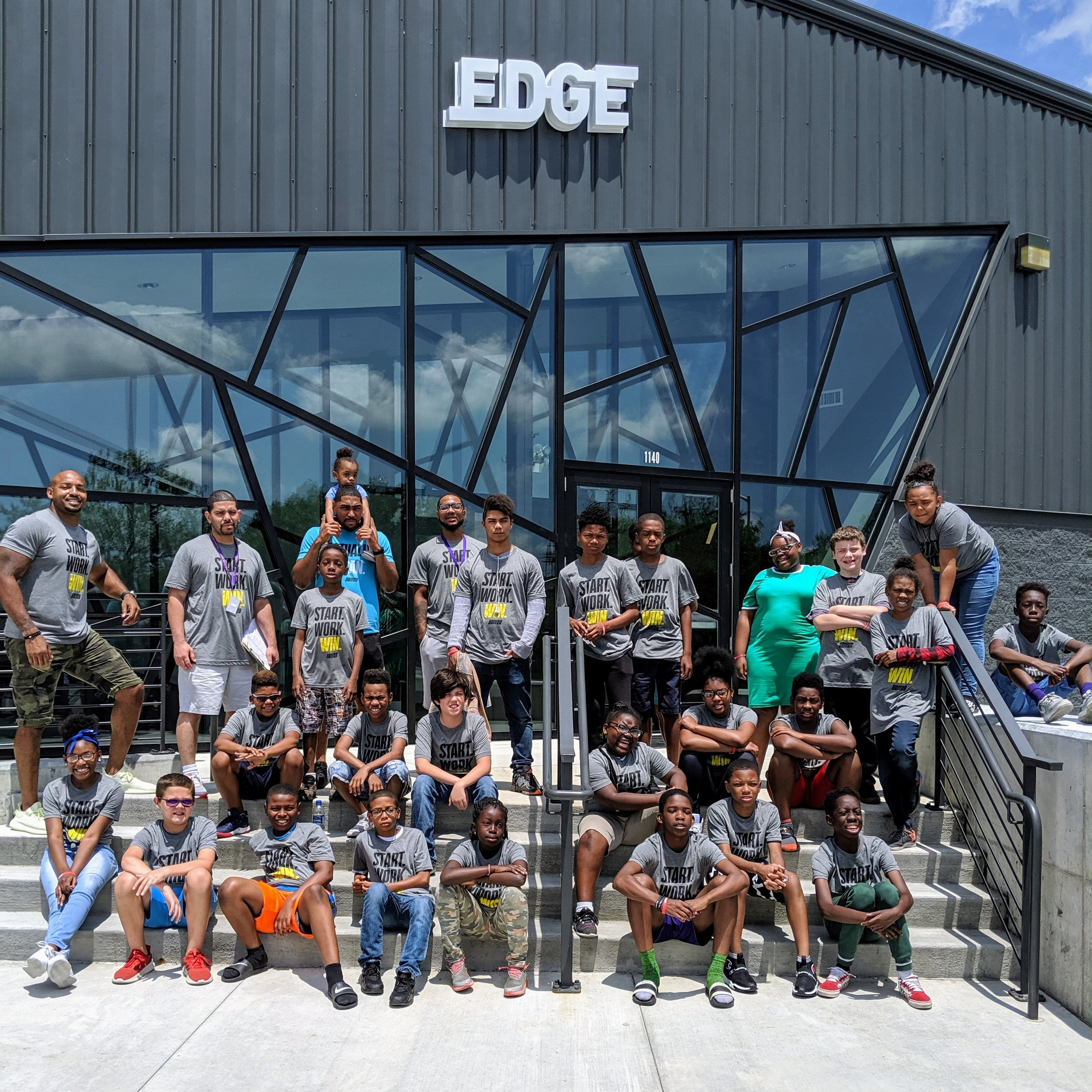 Driven Foundation  visits the EDGE.