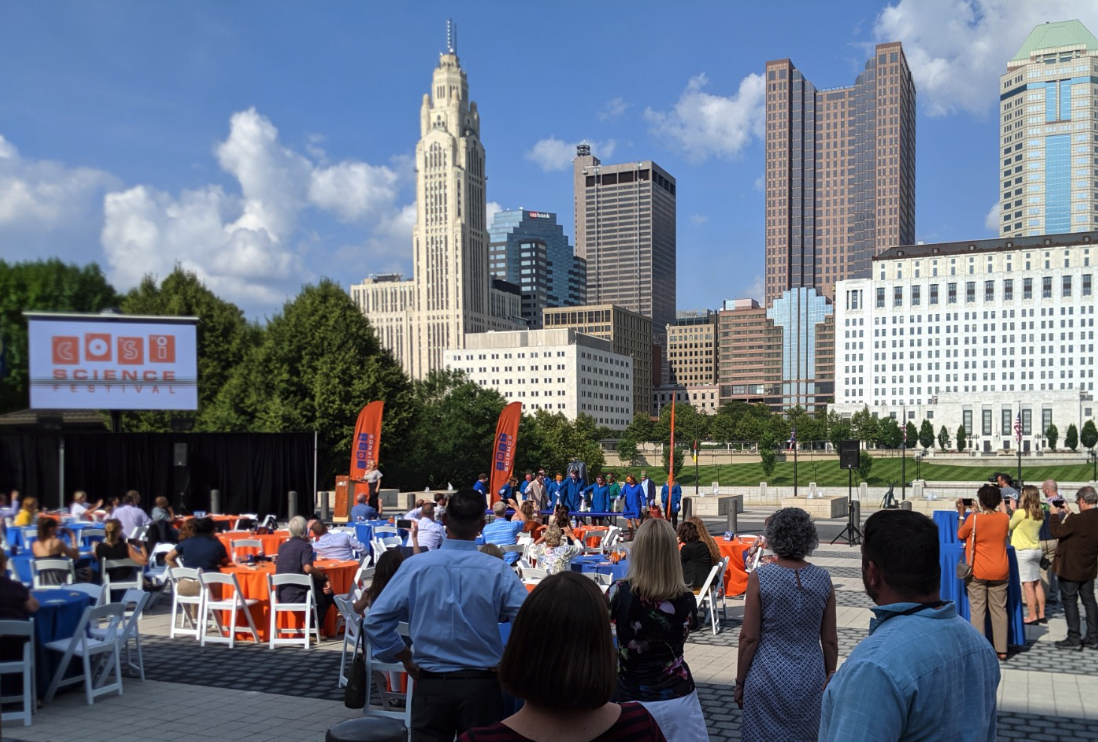 COSI  Science Festival Partner Celebration. July 9, 2019.