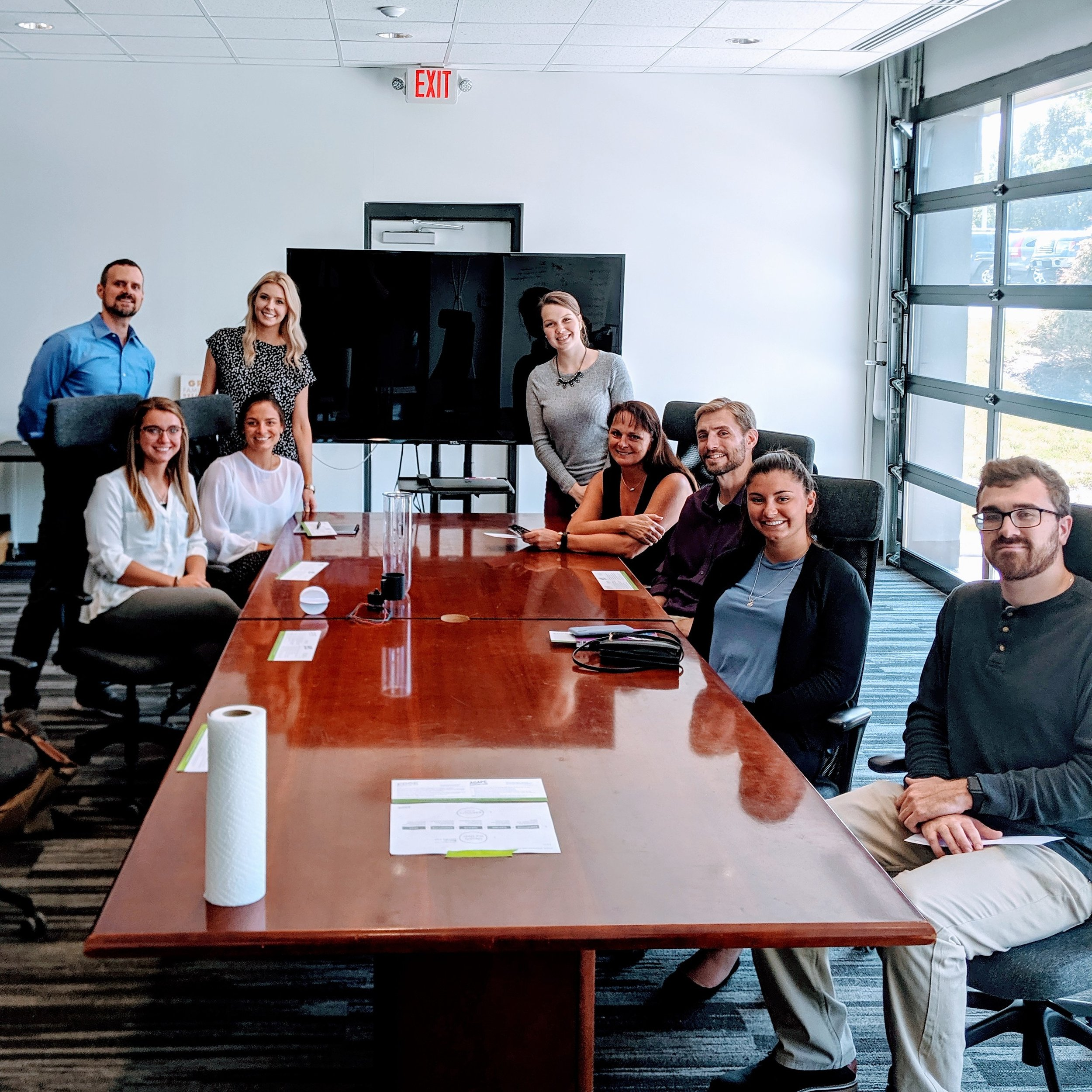 Columbus Chamber of Commerce  Interns visit the EDGE. July 09, 2019.