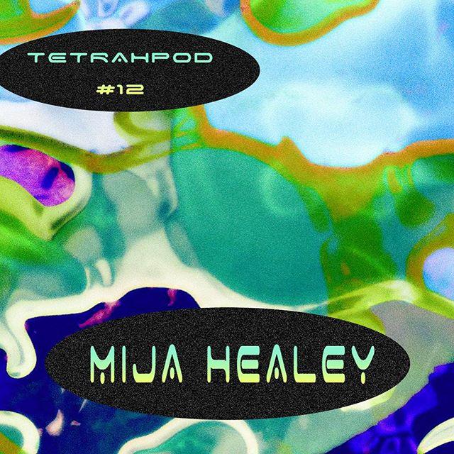 Tetrahpod No.12 feat @mijahealey ✨💥 bangin visuals courtesy of @catalogue.futuriste . Mix is live now on the cloud. #linkinbio #mijahealey #dark #jungle #drumandbass #dub #purefire #tetrahymena