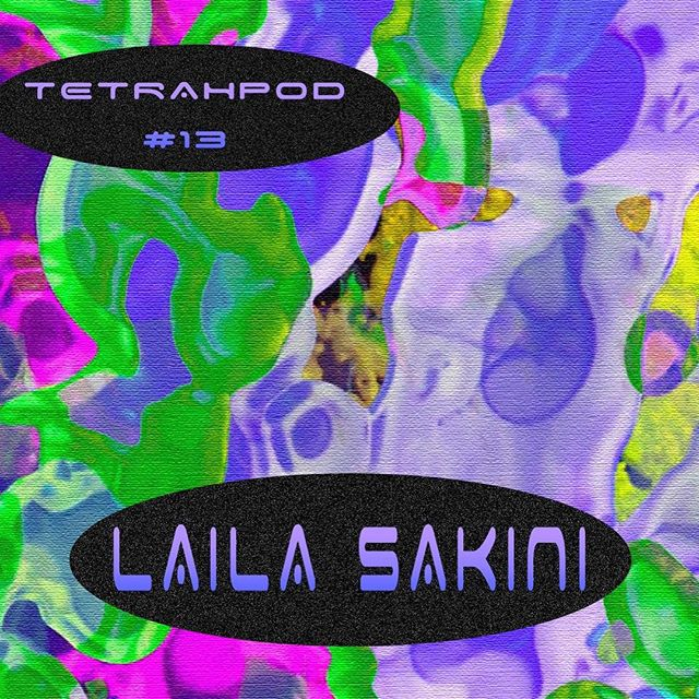 Tetrahpod No. 13 feat @lailasakini 💙💞visuals courtesy of my fav @catalogue.futuriste. Mix is live on the cloud. #linkinbio #lailasakini #electronica #alien #science #dark #trip #tetrahymena