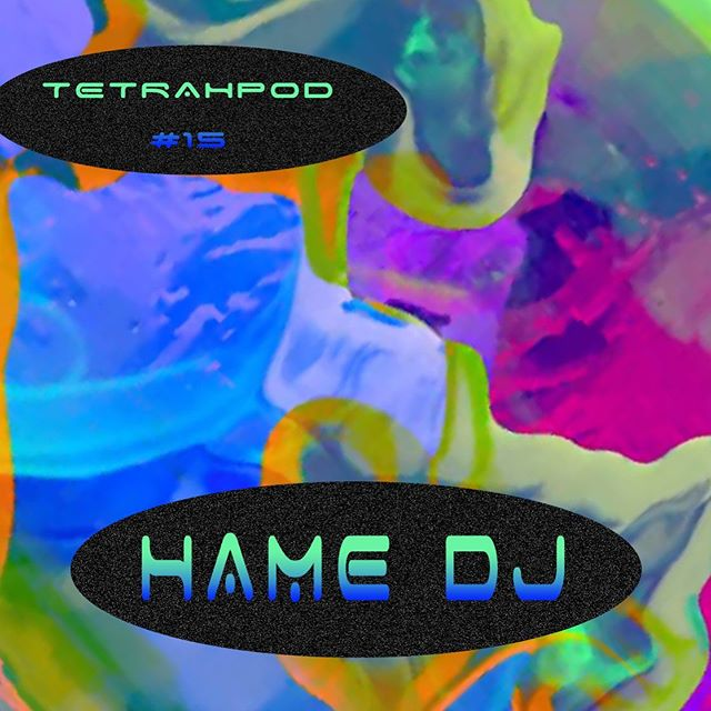 Tetrahpod No. 15 feat @hame_dj, visuals ~ @catalogue.futuriste. Up live on the cloud. ✨💜#linkinbio #space #ambient #bass #technology #electronic #hamedj #tetrahymena