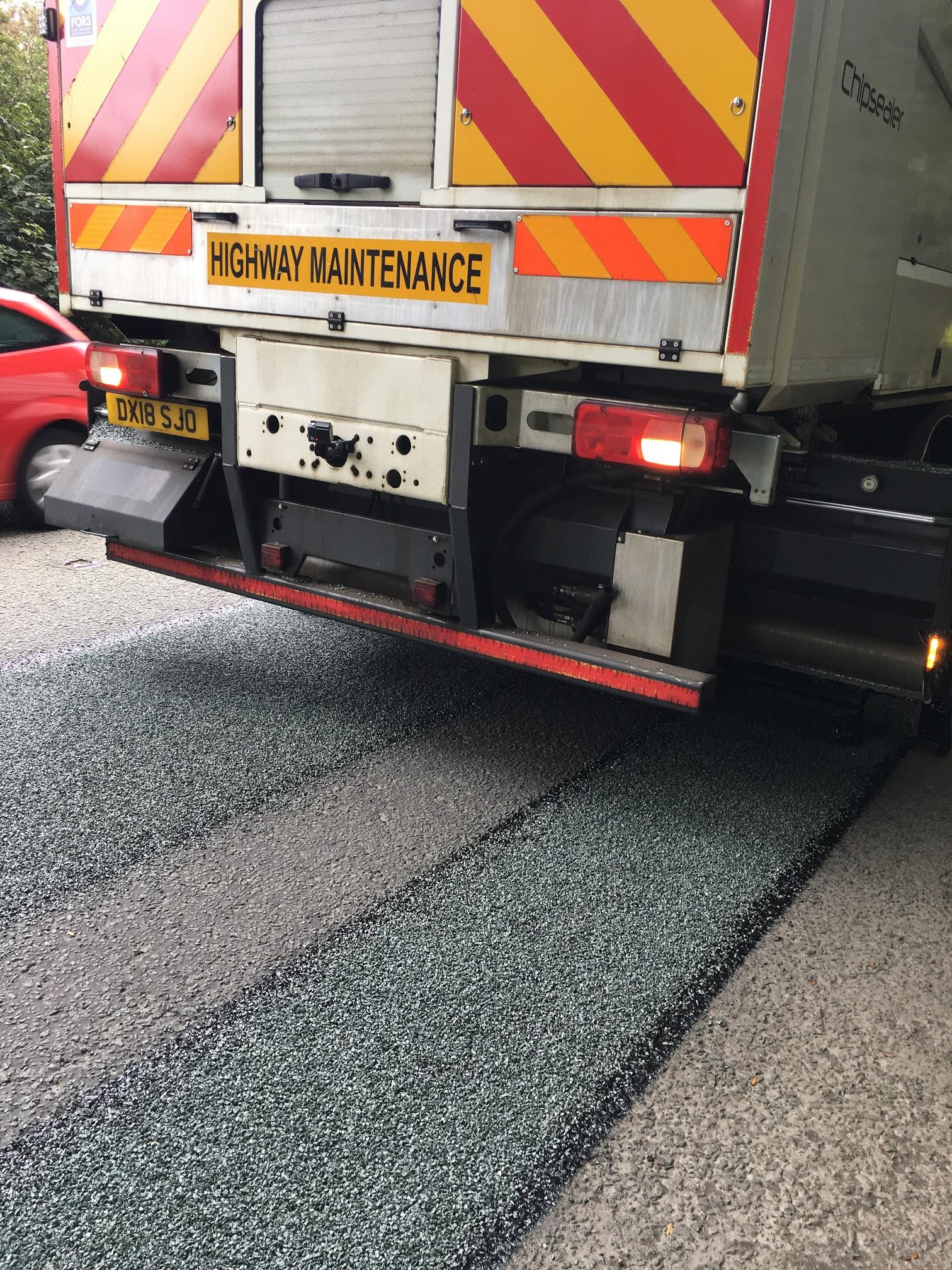 Pothole Prevention Surface Dressing