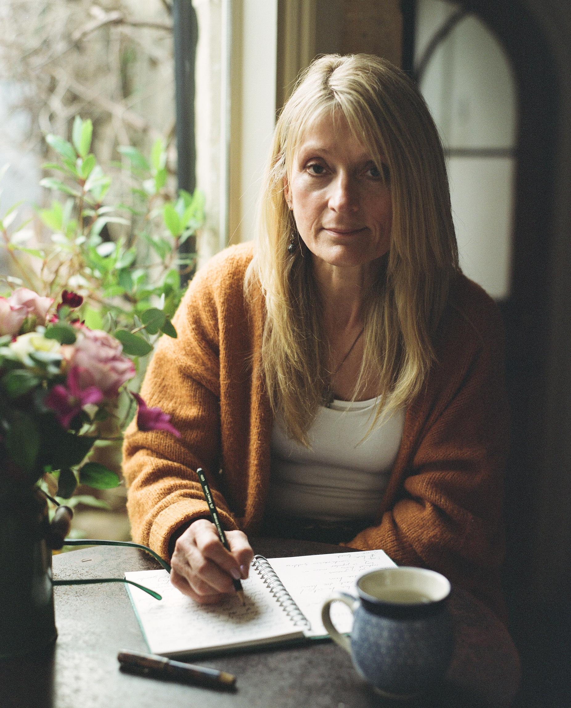 Mel at home in Bath.