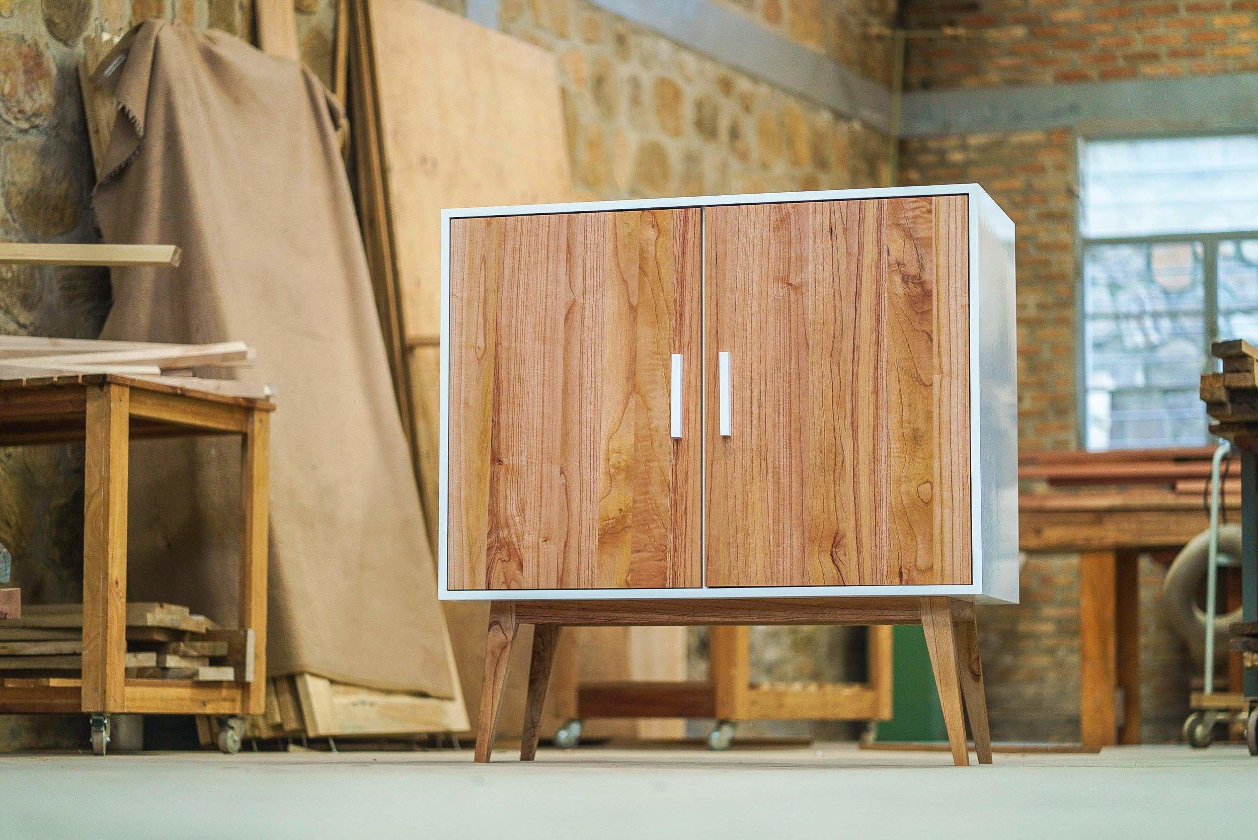 Sideboard in MDF & Cedar
