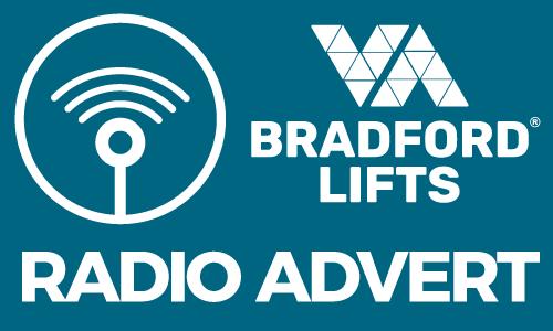 Bradford Lifts Radio advert - Bradford, Leeds and Harrogate