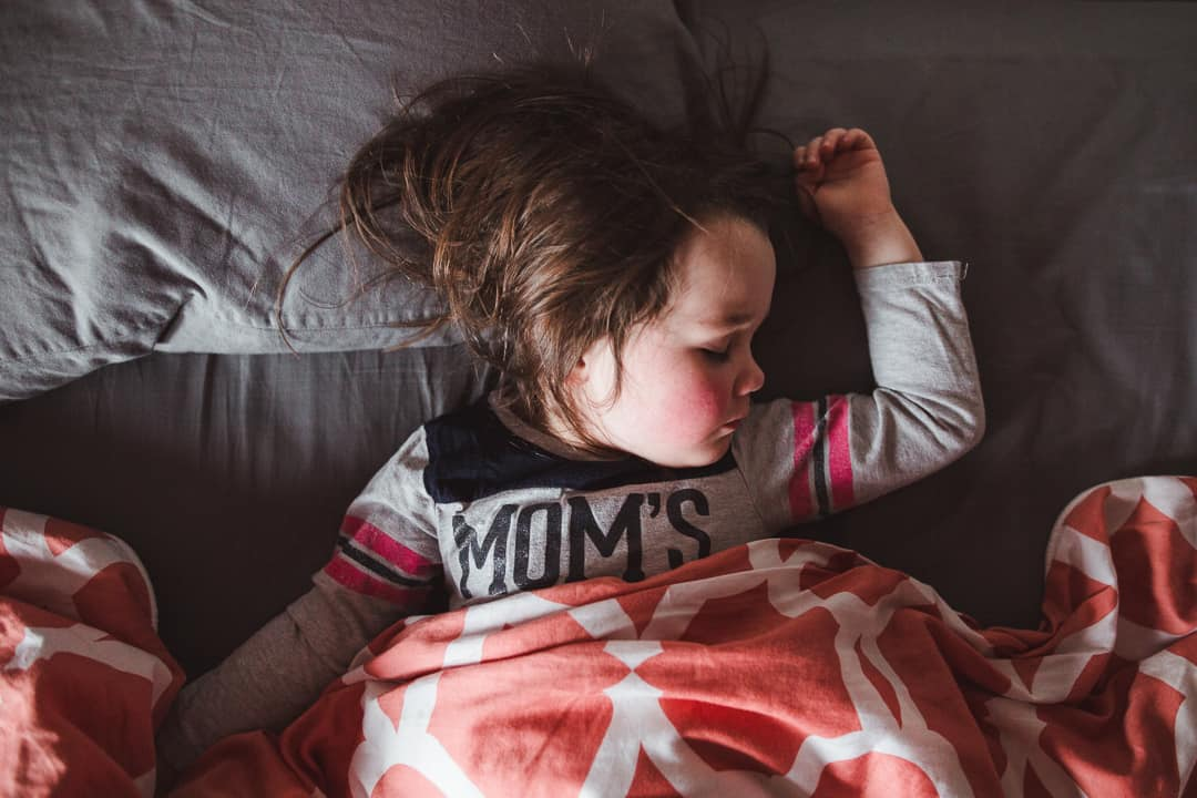 The end of nap-time means the end of sweet images like these.