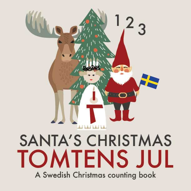 This bilingual counting book in Swedish and English is available in paperback and e-book formats from Amazon and other online retailers…
