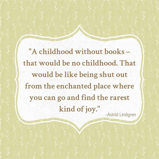 I couldn't agree more with this. I was a real bookworm as a child, and I hope my little boy will enjoy reading as much as I have, despite all the distractions from various screens that kids grow up with these days. Did you enjoy reading as a kid? :-)